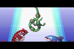 Pokemon Emerald - the trio - User Screenshot